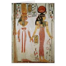 Isis and Nefertari