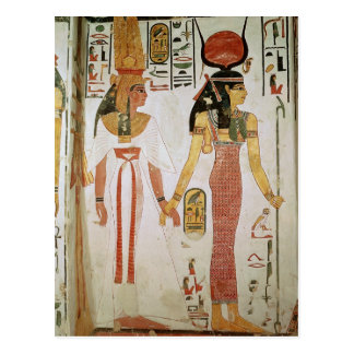 Isis and Nefertari Postcard