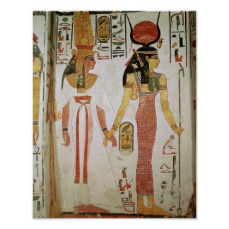 Isis and Nefertari Poster