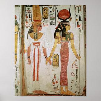 Isis and Nefertari Poster