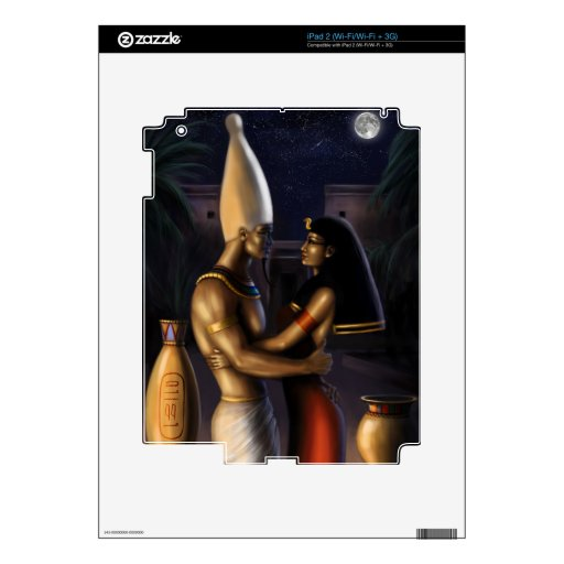 Isis and Osiris Skin For The iPad 2