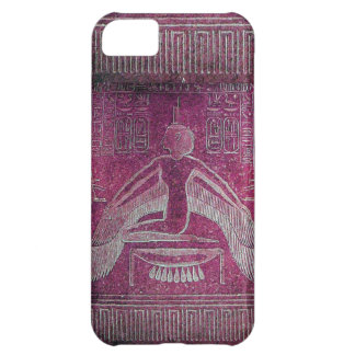 ISIS ,antique red white pink Case For iPhone 5C