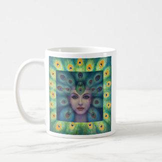 ISIS de la diosa el adivino Taza De Café