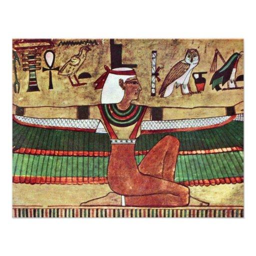 ISIS de la diosa, por Ägyptischer Maler Um 1360 Anuncio Personalizado