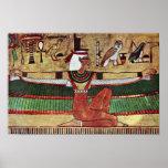 ISIS de la diosa, por Ägyptischer Maler Um 1360 Impresiones
