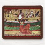 ISIS de la diosa, por Ägyptischer Maler Um 1360 Alfombrillas De Raton