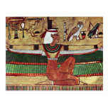 ISIS de la diosa, por Ägyptischer Maler Um 1360 Tarjetas Postales