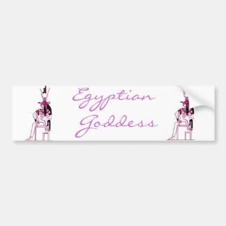 *Isis* egipcio de la mitología Pegatina Para Auto