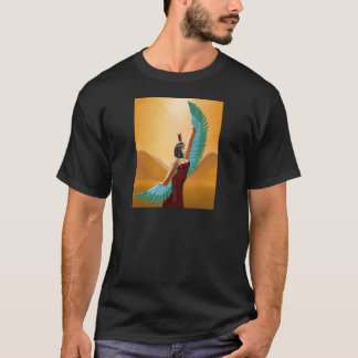Isis Egyptian Pagan mother goddess digital art T-Shirt