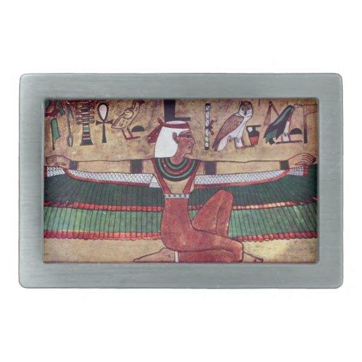 Isis Goddess Magical Ancient Egypt Belt Buckles