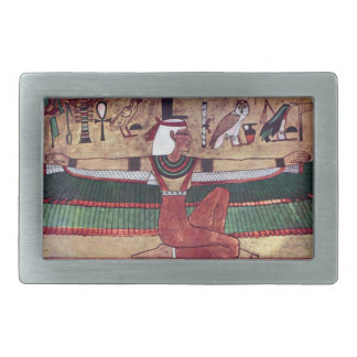 Isis Goddess Magical Ancient Egypt Rectangular Belt Buckle