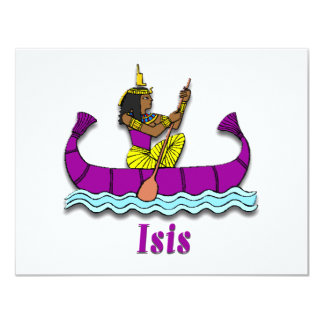 Isis 4.25x5.5 Paper Invitation Card