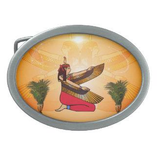 ISIS la diosa de la mitología egipcia Hebilla De Cinturón Oval
