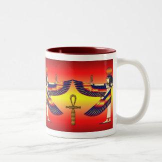 Isis Mirror Two-Tone Coffee Mug