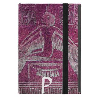 ISIS MONOGRAM, Antique Pink Case For iPad Mini