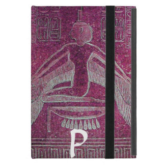 ISIS MONOGRAM, Antique Pink iPad Mini Case
