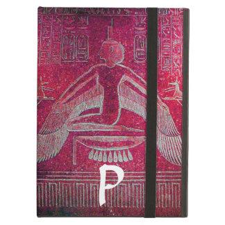 ISIS MONOGRAM, Antique Red iPad Air Cover