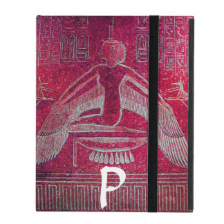 ISIS MONOGRAM, Antique Red iPad Folio Case