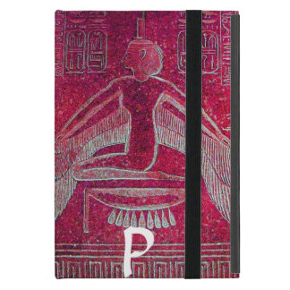 ISIS MONOGRAM, Antique Red iPad Mini Case