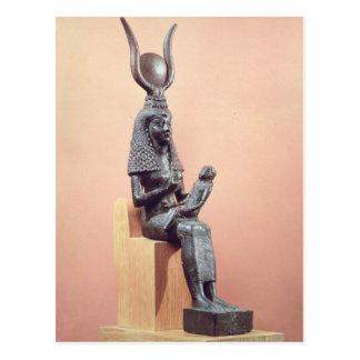 ISIS que amamanta al Horus infantil Postales