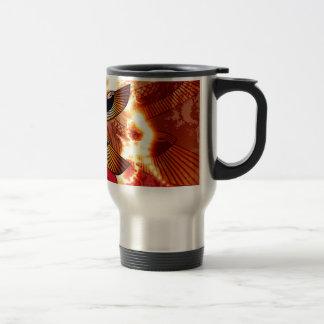 Isis the goddess of Egyptian mythology. 15 Oz Stainless Steel Travel Mug