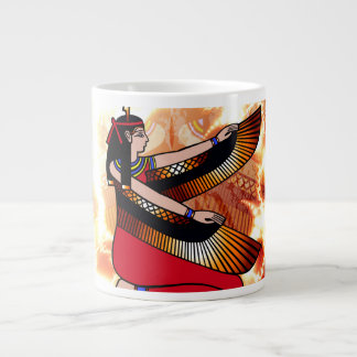 Isis the goddess of Egyptian mythology. 20 Oz Large Ceramic Coffee Mug