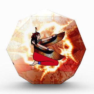 Isis the goddess of Egyptian mythology. Award