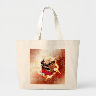 Isis the goddess of Egyptian mythology. Jumbo Tote Bag