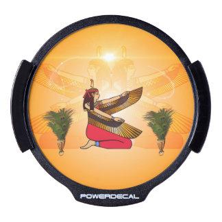 Isis the goddess of Egyptian mythology LED Car Window Decal
