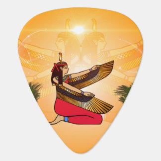 Isis the goddess of Egyptian mythology Guitar Pick