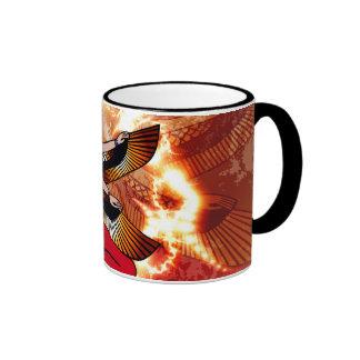 Isis the goddess of Egyptian mythology. Ringer Coffee Mug