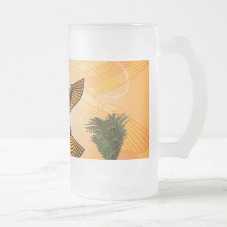 Isis the goddess of Egyptian mythology Glass Beer Mug