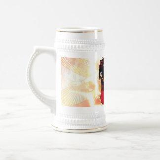 Isis the goddess of Egyptian mythology. 18 Oz Beer Stein