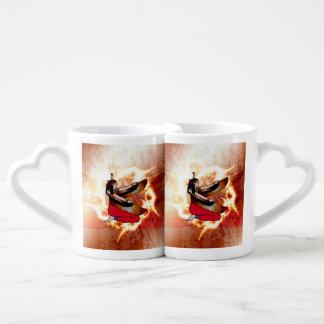 Isis the goddess of Egyptian mythology. Couples' Coffee Mug Set