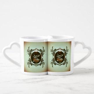 Isis the goddess of Egyptian mythology Couples' Coffee Mug Set
