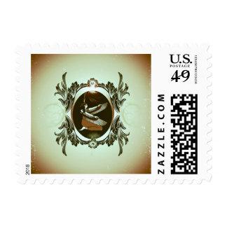 Isis the goddess of Egyptian mythology Stamp