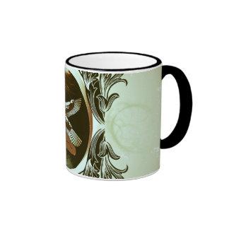 Isis the goddess of Egyptian mythology Ringer Coffee Mug