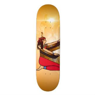 Isis the goddess of Egyptian mythology Skateboard Deck