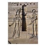 ISIS y Horus, Egipto Invitación Personalizada