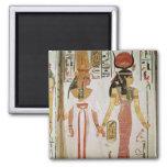 ISIS y Nefertari Imán Para Frigorífico