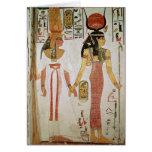 ISIS y Nefertari Tarjeta De Felicitación