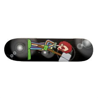 iskeight crazy clown skateboards