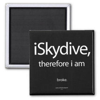 iSkydive, therefore... Magnet
