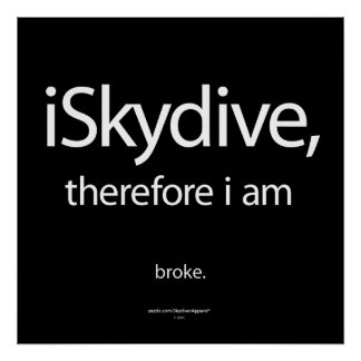 iSkydive, therefore... Poster