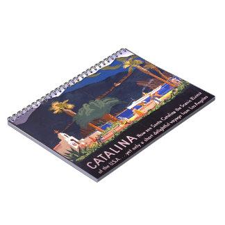 Isla 1935 de Santa Catalina Cuadernos