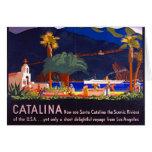 Isla 1935 de Santa Catalina Tarjeta De Felicitación