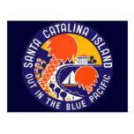 Isla 1935 de Santa Catalina Tarjeta Postal