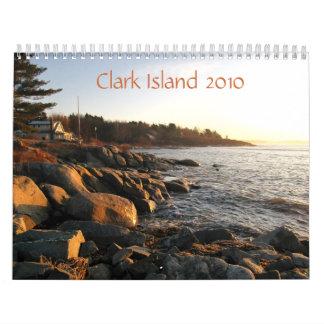 Isla 2010 de Clark Calendarios