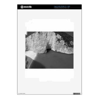 Isla 3 de B&W Zakynthos iPad 2 Calcomanía
