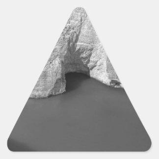 Isla 3 de B&W Zakynthos Pegatina Triangular